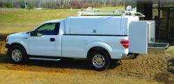 A.R.E. Site Commander Series Truck Cap